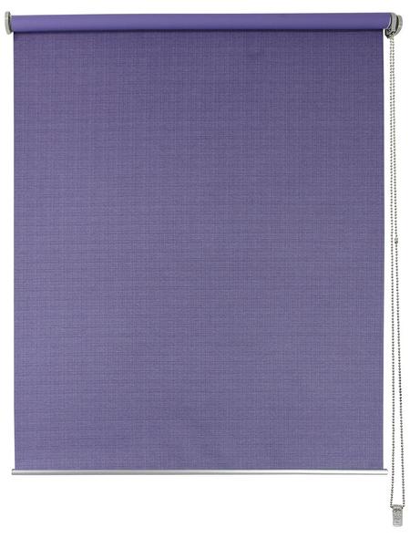 LIEDECO Seitenzug-Rollo, flieder, Polyester