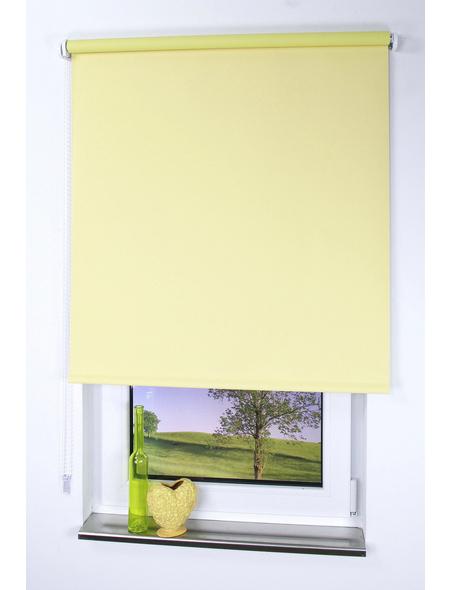 LIEDECO Seitenzug-Rollo, gelb, Polyester