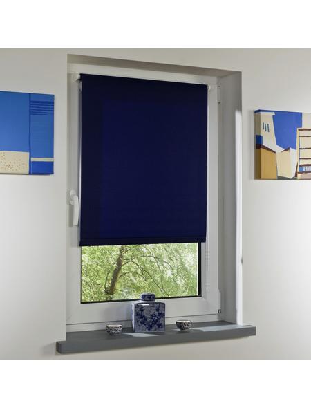 LIEDECO Seitenzugrollo, Blau, Höhe: 150 cm