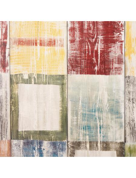 dc-fix Selbstklebefolie, Holz | Vierecke, 200x45 cm