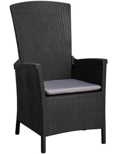 BEST Sessel »Capri«, Kunststoff + Polyester