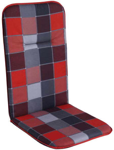 DOPPLER Sesselauflage, B x L: 48  x 117  cm