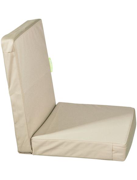 OUTBAG Sesselauflage »HighRise Plus«, beige, BxL: 105 x 50 cm