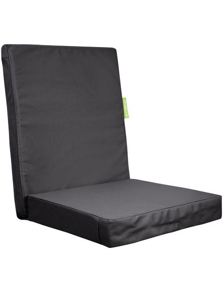 OUTBAG Sesselauflage »HighRise Plus«, grau, BxL: 105 x 50 cm