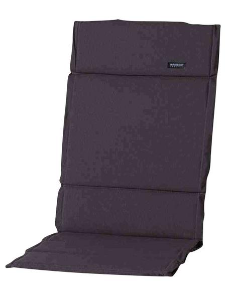 MADISON Sesselauflage »Panama«, grau, BxL: 123 x 50 cm