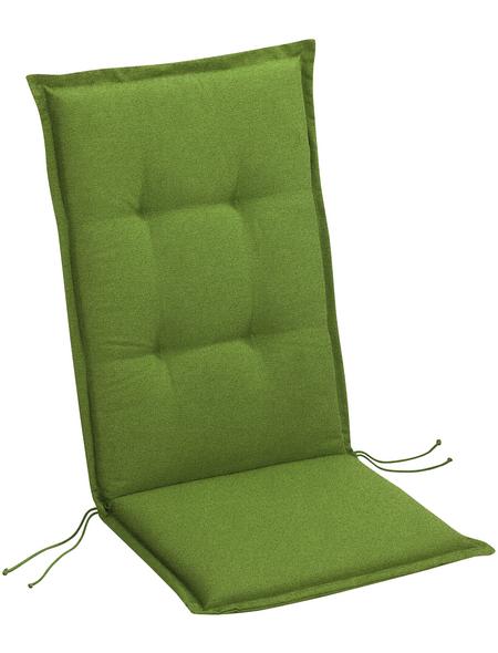 BEST Sesselauflage »Selection-Line«, B x L x H: 50  x 120  x 7 cm