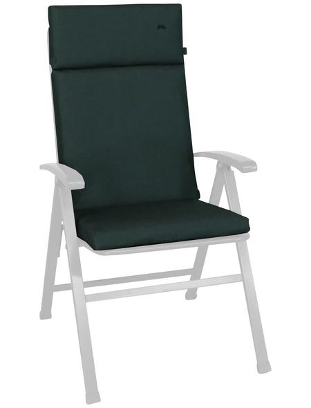 ANGERER FREIZEITMÖBEL Sesselauflage »Sun«, Uni, grün, 47 cm x 112 cm