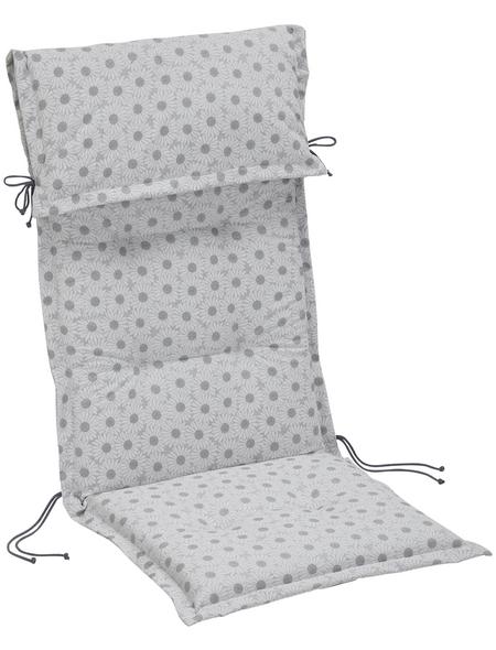 BEST Sesselauflage »Trend-Line«, B x L x H: 50  x 120  x 8 cm
