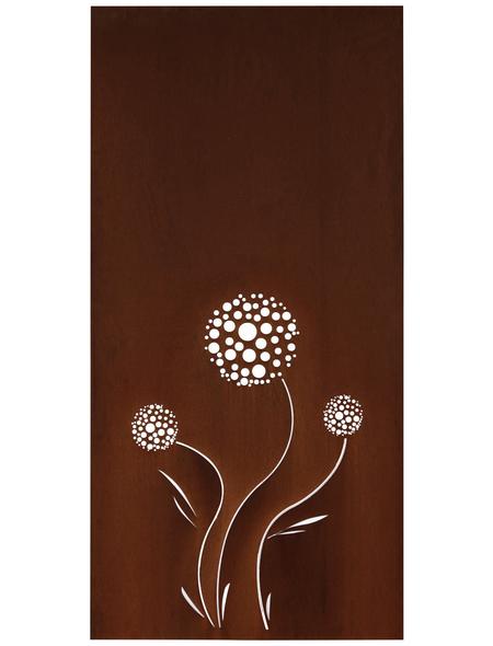 FLORAWORLD Sichtschutz »Leone«, Stahl, HxL: 98 x 90 cm