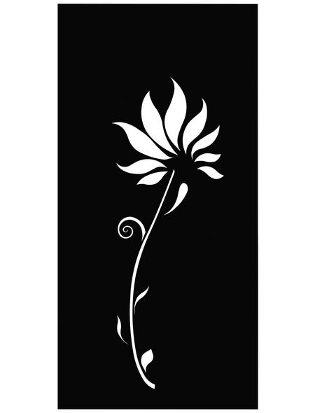FLORAWORLD Sichtschutz »Lilie«, Stahl, HxL: 158 x 90 cm
