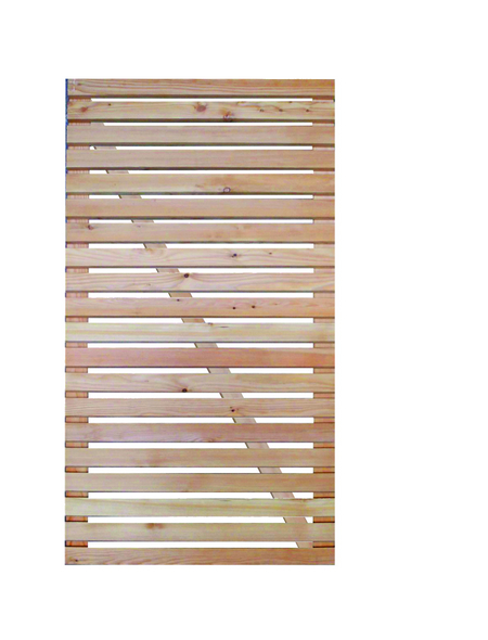 Sichtschutzelement, Lärchenholz, HxL: 180 x 100 cm