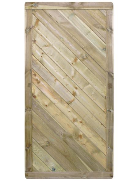 MR. GARDENER Sichtschutzelement »Rügen«, Kiefernholz/Fichtenholz, LxH: 90 x 180 cm