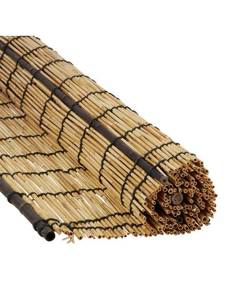 MR GARDENER Sichtschutzmatte BxH 180 X 180cm Schilfrohr Bambus