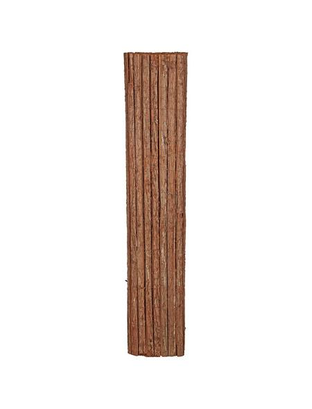 MR. GARDENER Sichtschutzmatte, Holz, LxH: 300 x 150 cm
