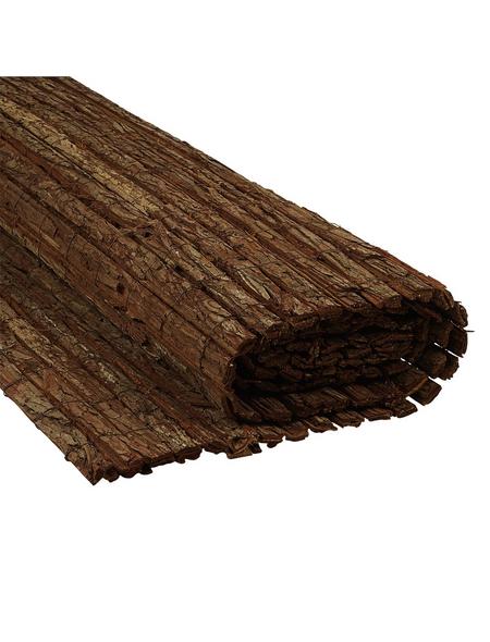 MR. GARDENER Sichtschutzmatte, Holz, LxH: 300 x 90 cm