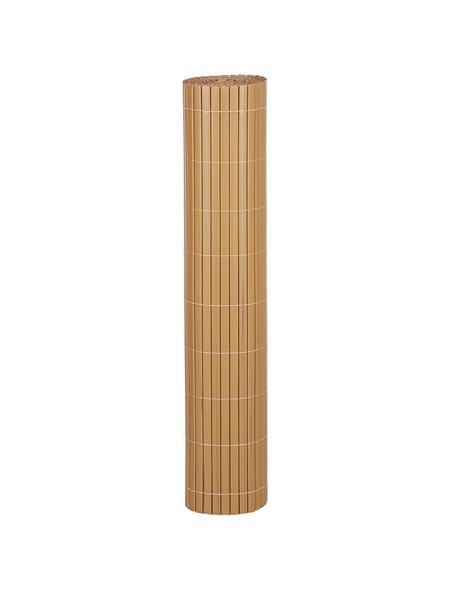 MR. GARDENER Sichtschutzmatte, PVC, LxH: 300 x 90 cm