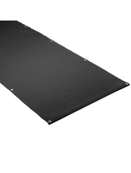 MR. GARDENER Sichtschutzmatte, PVC, LxH: 500 x 90 cm