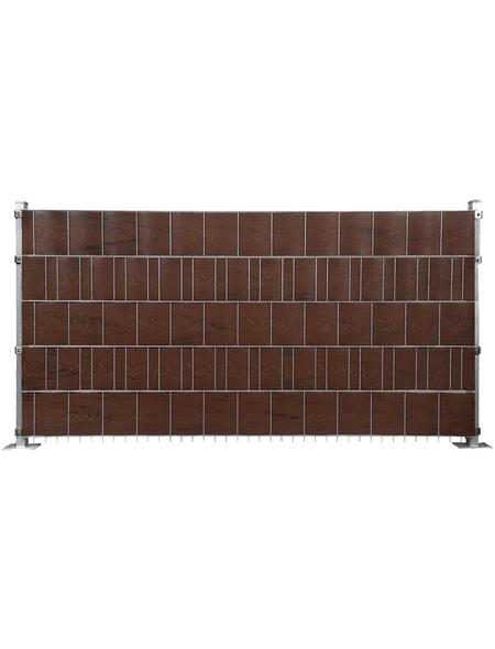 FLORAWORLD Sichtschutzstreifen »comfort«, PVC, LxH: 201,5 x 19 cm