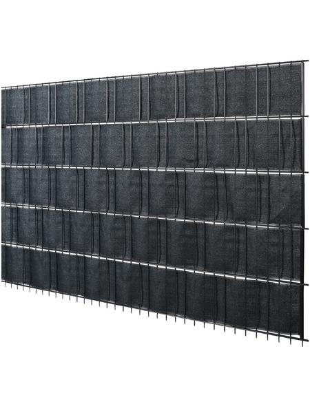 FLORAWORLD Sichtschutzstreifen »promotion«, HDPE, LxH: 2050 x 19 cm