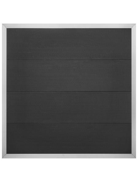 Sichtschutzzaun »Alexos«, HxL: 180 x 180 cm, anthrazit