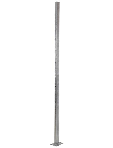 FLORAWORLD Sichtschutzzaun, HxL: 6 x 180 cm, silberfarben