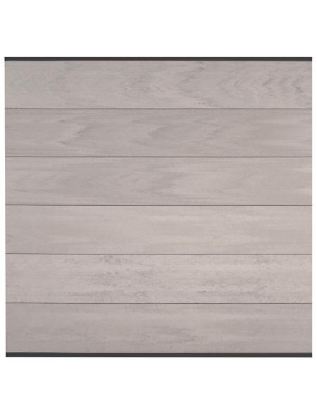 Sichtschutzzaun, WPC, HxL: 90 x 179 cm