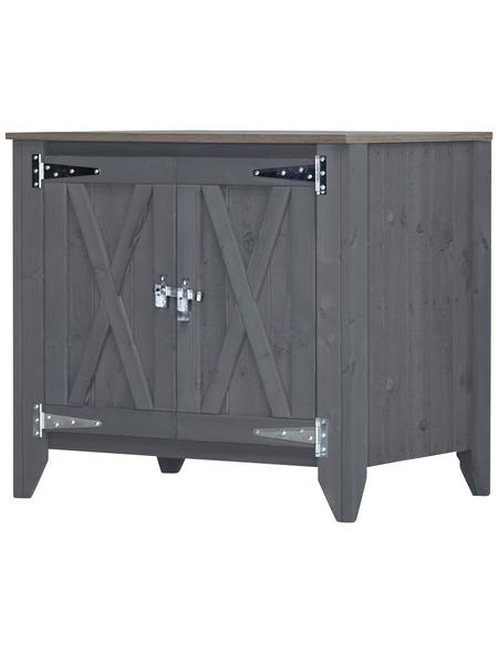 Sideboard »Typ 564«, für Outdoorküche, Holz, hellgrau, 1 Fachböden