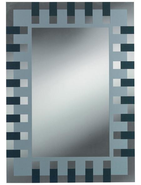 KRISTALLFORM Siebdruckspiegel »Enzo«, Rechteckig