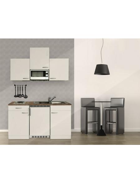 RESPEKTA Singleküche, mit E-Geräten, Gesamtbreite: 150cm