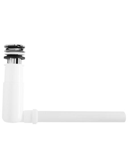 """CORNAT Siphon »Easy Clean«, messing/Kunststoff, 1 1/4"""", weiß"""