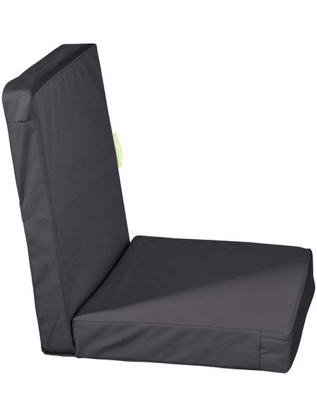 OUTBAG Sitzauflage »HighRise Plus«, Uni, anthrazit, 50 cm x 105 cm