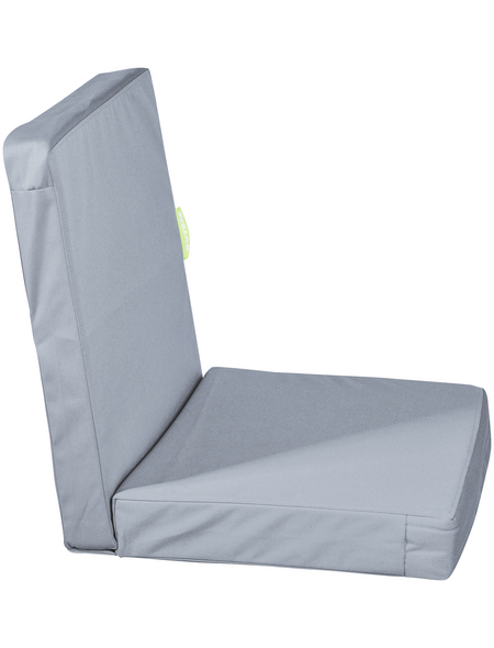 OUTBAG Sitzauflage »HighRise Plus«, Uni, grau, 50 cm x 105 cm