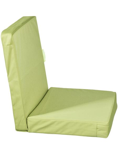 OUTBAG Sitzauflage »HighRise Plus«, Uni, grün, 50 cm x 105 cm