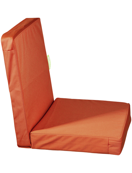 OUTBAG Sitzauflage »HighRise Plus«, Uni, orange, 50 cm x 105 cm