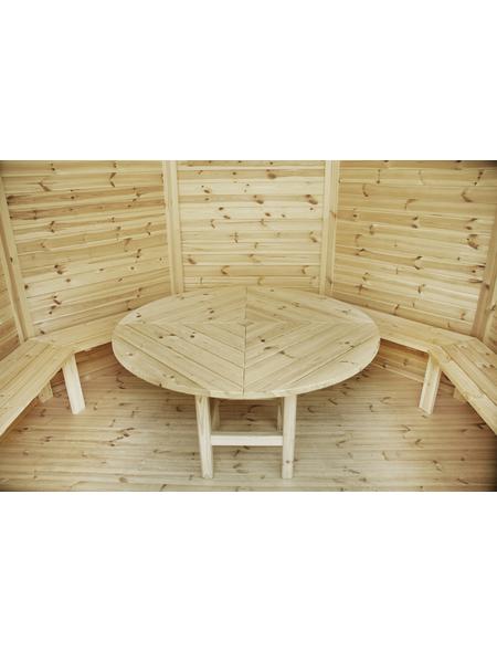 WOLFF Sitzbank, Holz, beige