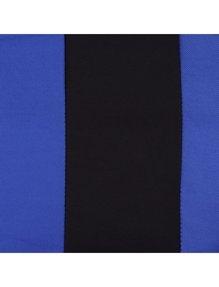UNITEC Sitzbezug-Set, NEWLINE, Schwarz | Blau, Polyester, 14-tlg., für hinten und vorne