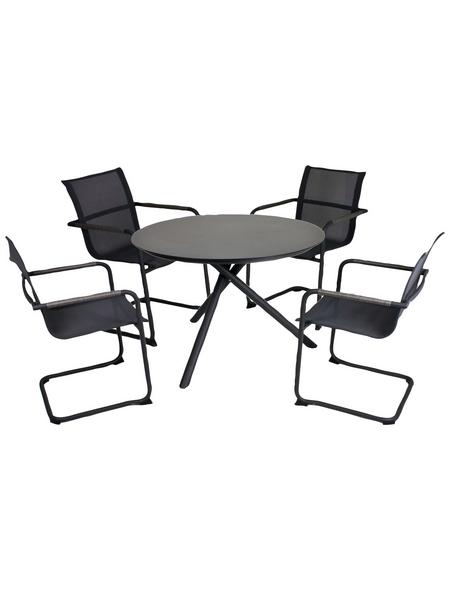 GARDEN PLEASURE Sitzgruppe, 4 Sitzplätze