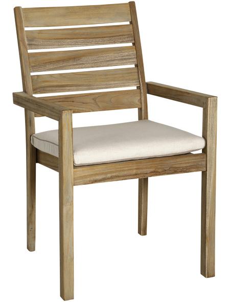 BEST Sitzkissen »Moretti«, BxLxH: 48  x 48  x 6 cm