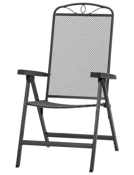 SIENA GARDEN Sitzmöbel »Elda Plus«, Breite: 65  cm, Metall