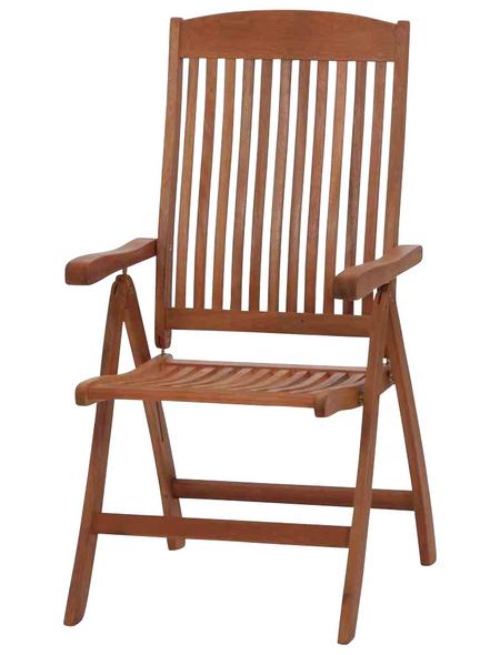 SIENA GARDEN Sitzmöbel »Nassau«, Eukalyptusholz