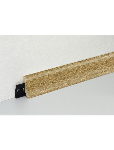 FN NEUHOFER HOLZ Sockelleiste, (1 Stk.) aus Mitteldichte Faserplatte (MDF), für Innenbereich