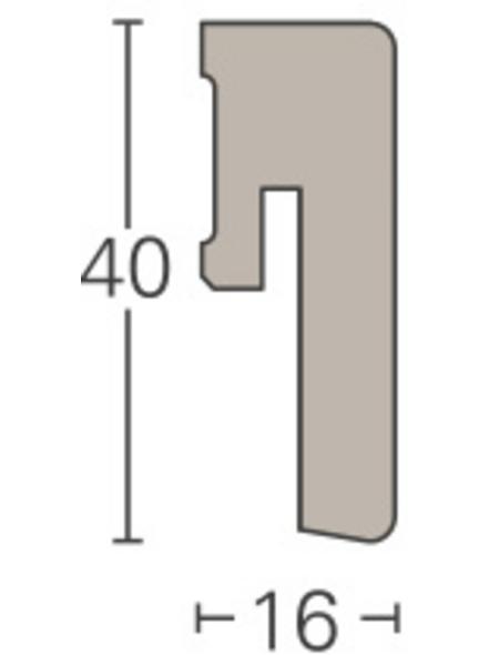 PARADOR Sockelleiste »ASL 6«, Apfel