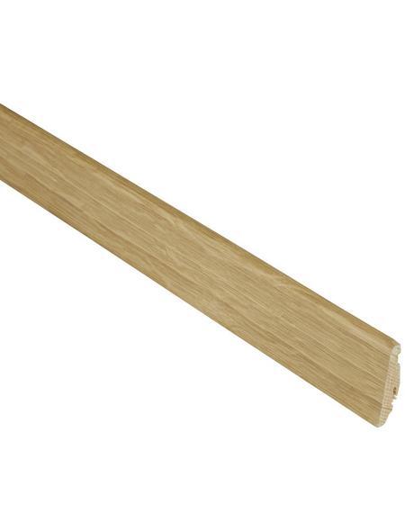 FN NEUHOFER HOLZ Sockelleiste, Eiche natur, Fichtenholz, LxHxT: 250 x 5,8 x 1,9 cm