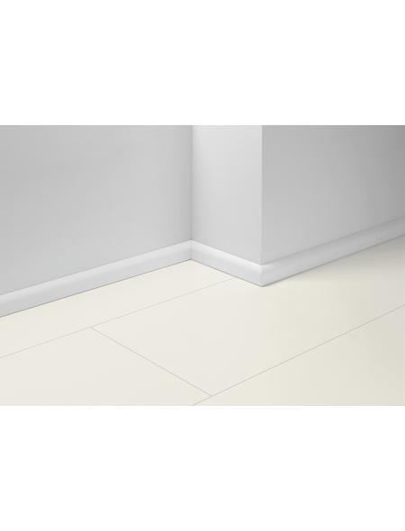 PARADOR Sockelleiste »SL 2«, Weiß, BxH: 19,5 x 50 mm