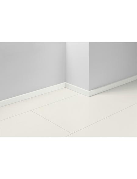 PARADOR Sockelleiste »SL 3«, Weiß, BxH: 16  x 40  mm