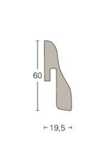 PARADOR Sockelleiste »SL 4«, Eiche, BxH: 19,5 x 60 mm