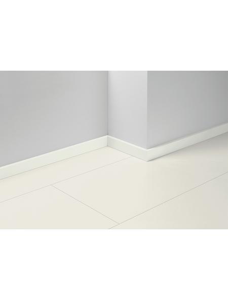 PARADOR Sockelleiste »SL 5«, Weiß, BxH: 16  x 50  mm