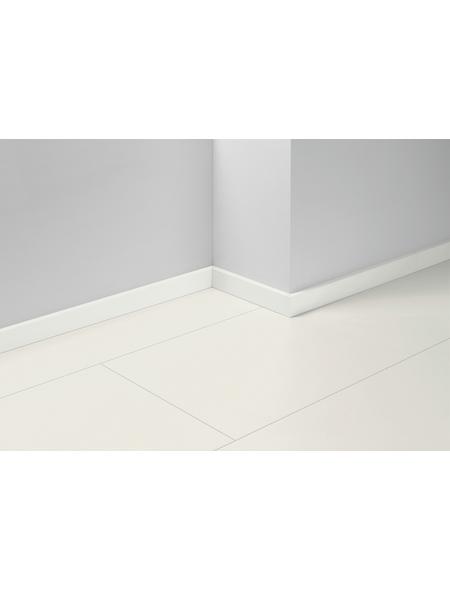PARADOR Sockelleiste »SL 6«, Weiß, BxH: 16  x 50  mm