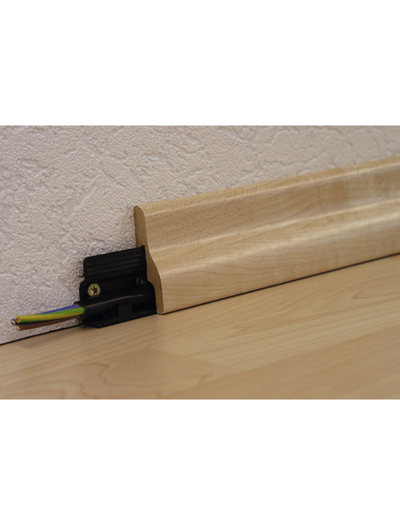 MODERNA Sockelleisten-Befestigungsclips (12 Stk.) aus Kunststoff, für Leisten aus dem moderna Sortiment