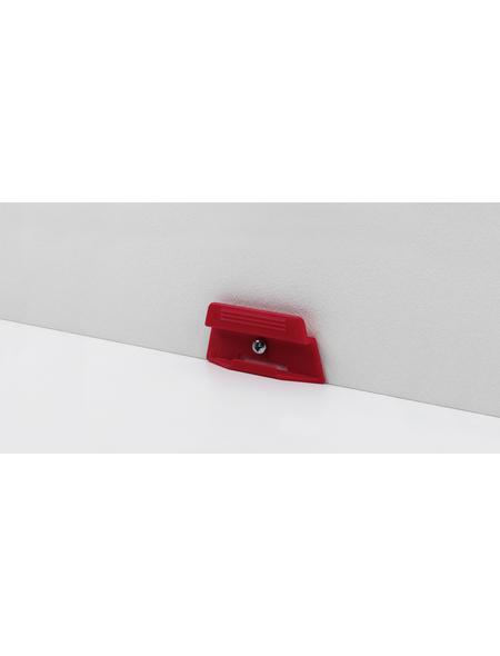 PARADOR Sockelleisten-Befestigungsclips »Päckchen Leistenclipse« (24 Stk.) aus Kunststoff